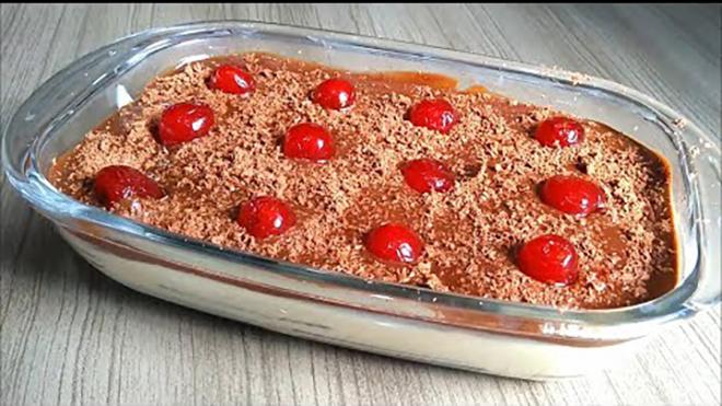 Pavê de Chocolate – Receita Simples e fácil de sobremesa