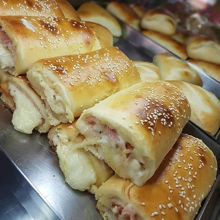 Pãezinhos Pizza fáceis e deliciosos