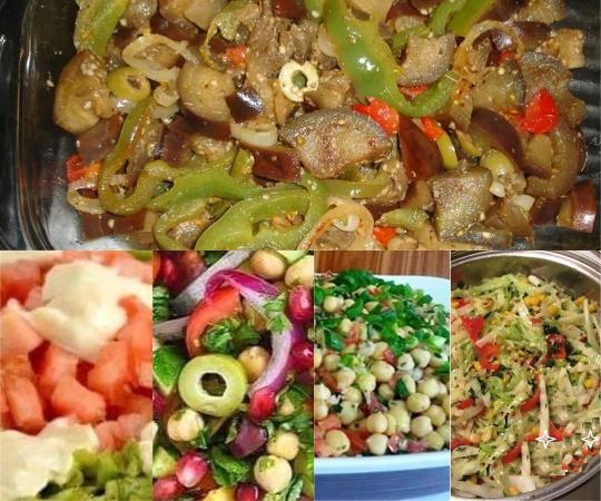 5 saladas para o seu almoço de domingo