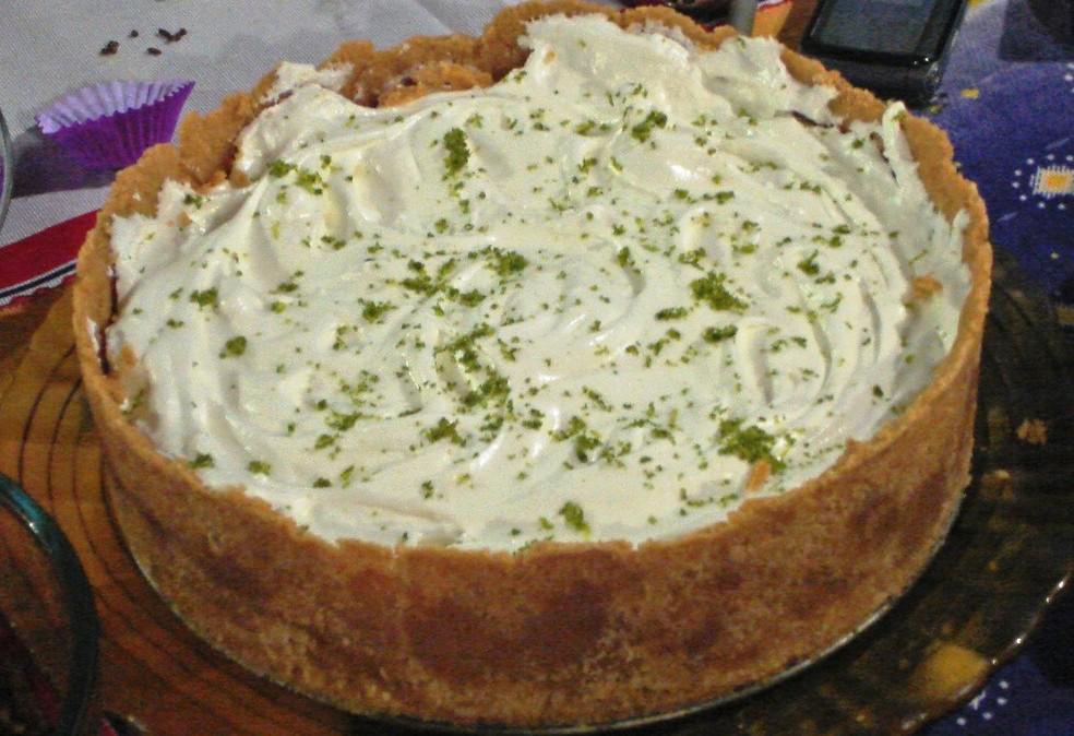 Torta de Limão com Bolacha