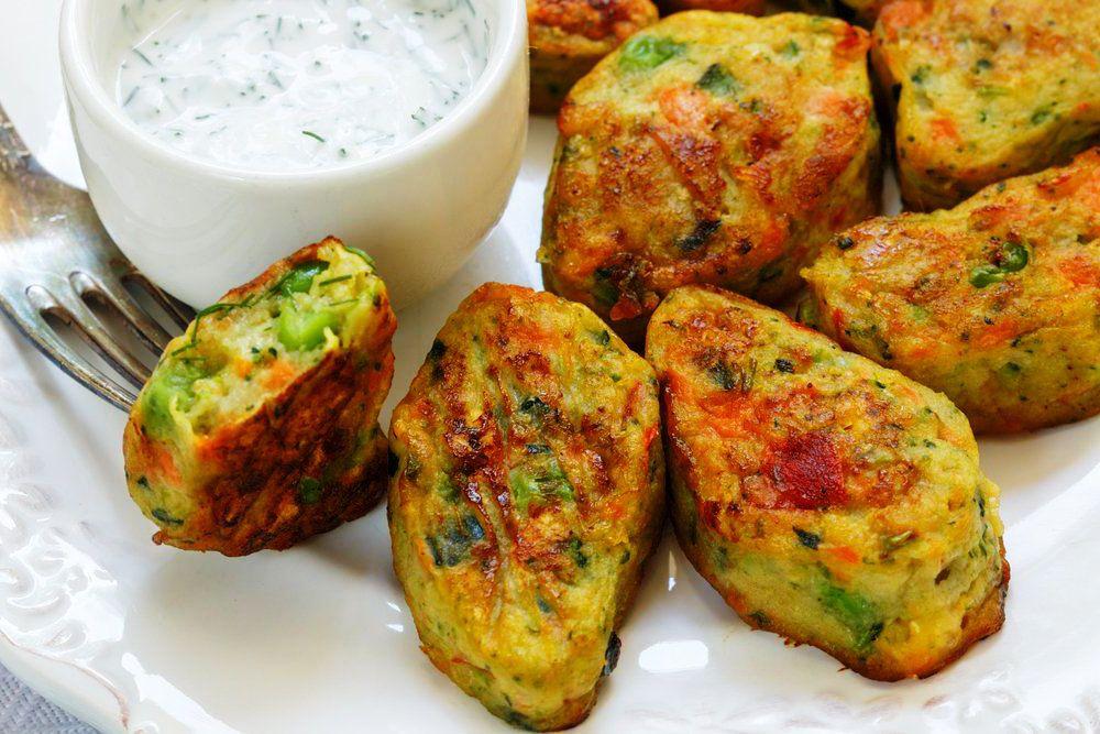 Nuggets de Legumes Assados