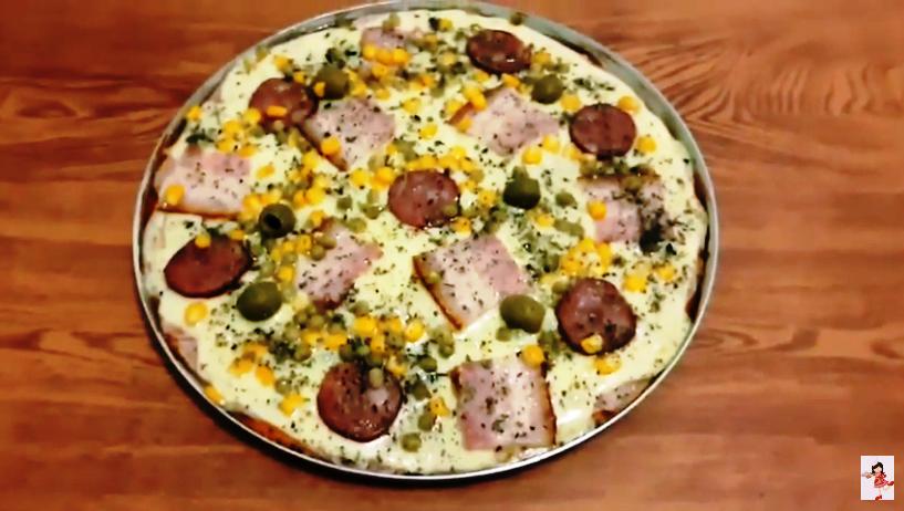 A Pizza Caseira Mais Fácil De Fazer Que Você Já Viu Na Vida