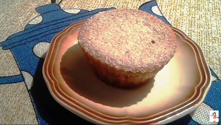 Um Muffin de Banana com Canela pra Ninguém Botar Defeito