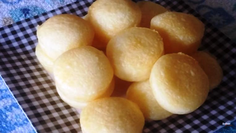 Pão de queijo de liquidificador na airfryer