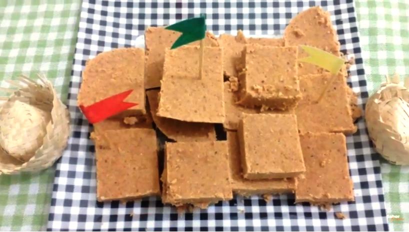 Aprenda a Fazer Paçoquita Caseira com 3 Ingredientes