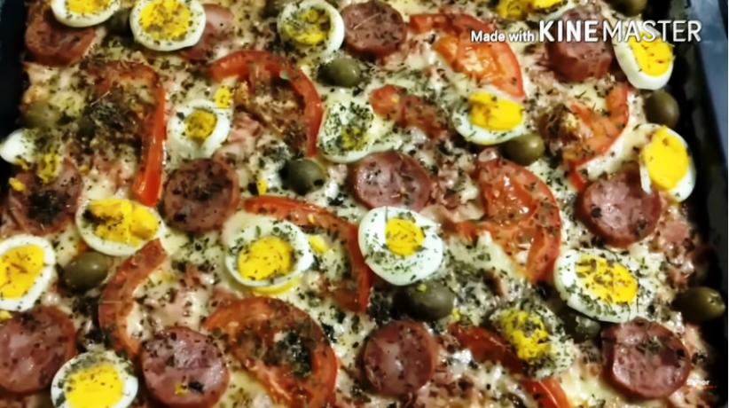 Aprenda a Fazer uma Deliciosa Pizza de Liquidificador