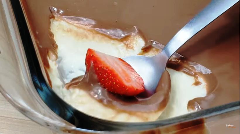 Aprenda a Fazer Sobremesa de Leite Ninho com Cobertura de Chocolate